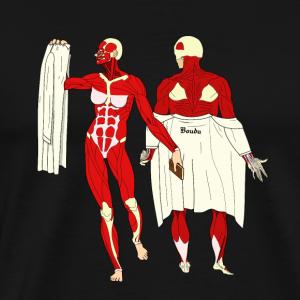 Pin up' anatomique - T-shirt Premium Homme