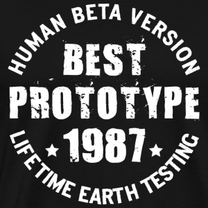 1987 - The year of birth of legendary prototypes - Men's Premium T-Shirt