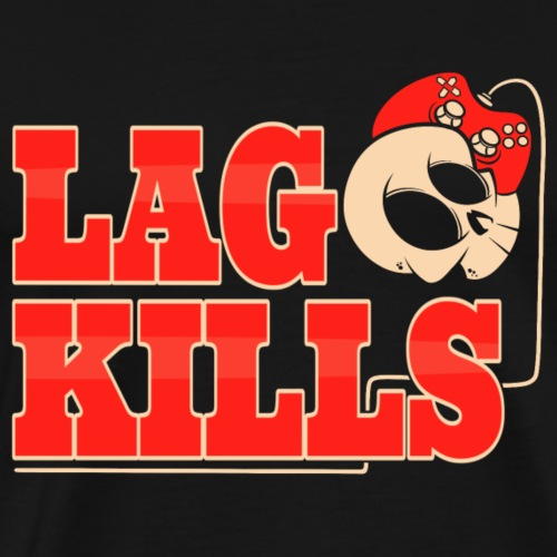Lag Kills - Männer Premium T-Shirt