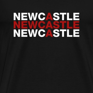 Newcastle United Kingdom Flag Shirt - Newcastle - Premium-T-shirt herr