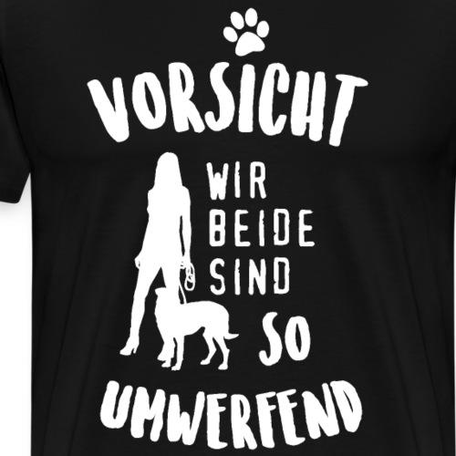 Umwerfendes Team. Hunde T-Shirt. - Männer Premium T-Shirt