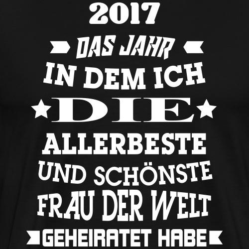 Beste_Frau_V1 - Männer Premium T-Shirt