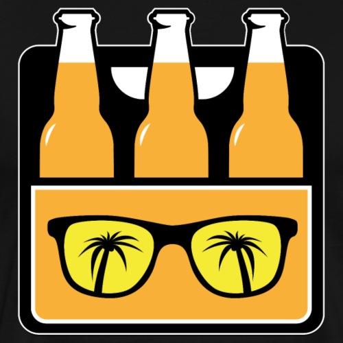Mallorca Sixpack party drinking crew sommer - Männer Premium T-Shirt
