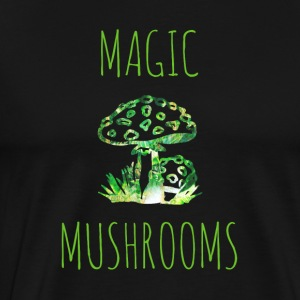 Magic mushrooms Magic Mushrooms Toadstool - Premium T-skjorte for menn