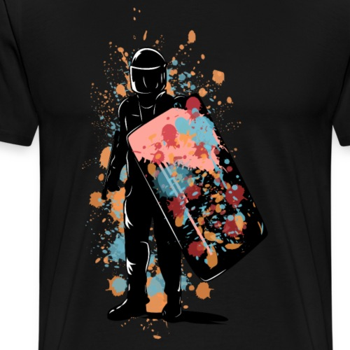 Riot Colors - Männer Premium T-Shirt