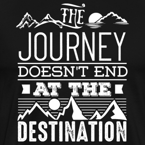 The Journey - Männer Premium T-Shirt