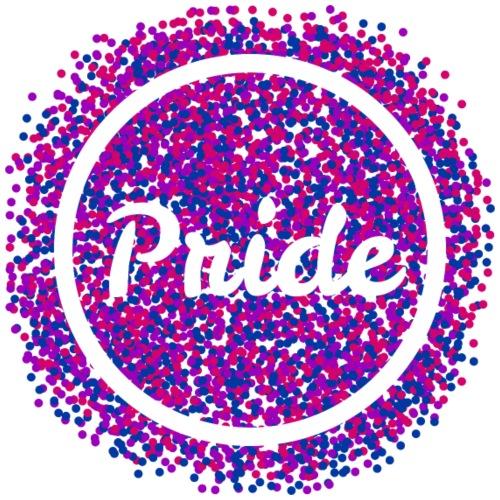 Bisexual - Pride & Confetti - Männer Premium T-Shirt