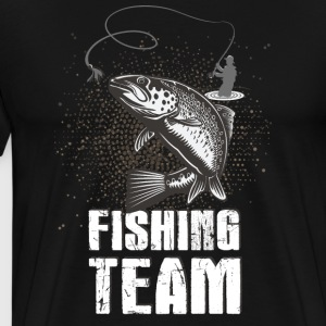 Fishing! Fishing! Club! Team! Club! Fishing rod! - Men's Premium T-Shirt