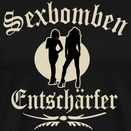 Sexbomben Entschärfer - Männer Premium T-Shirt