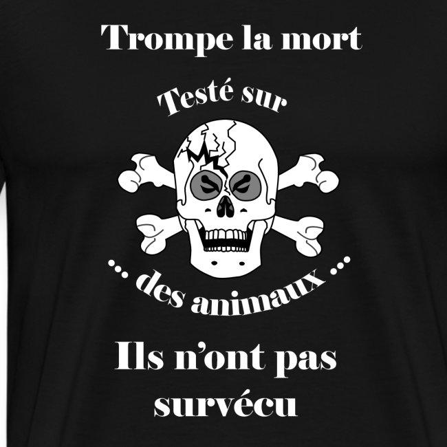 Trompe la mort «méchant» Test animal FC