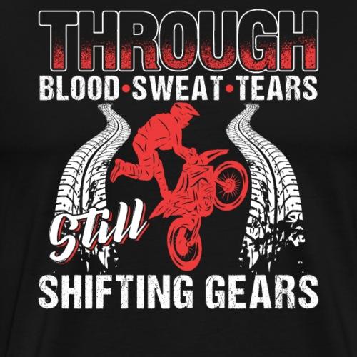 Motocross Shifting Gears - Männer Premium T-Shirt