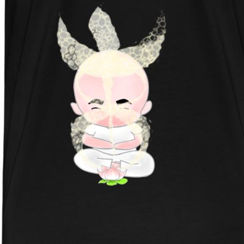 meditazione con loto - Maglietta Premium da uomo