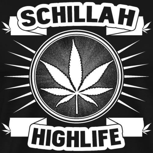 Schillah - Highlife Weiß 01 - Männer Premium T-Shirt