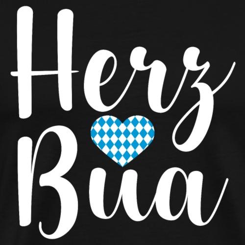 Herz Bua - Oktoberfest - Männer Premium T-Shirt