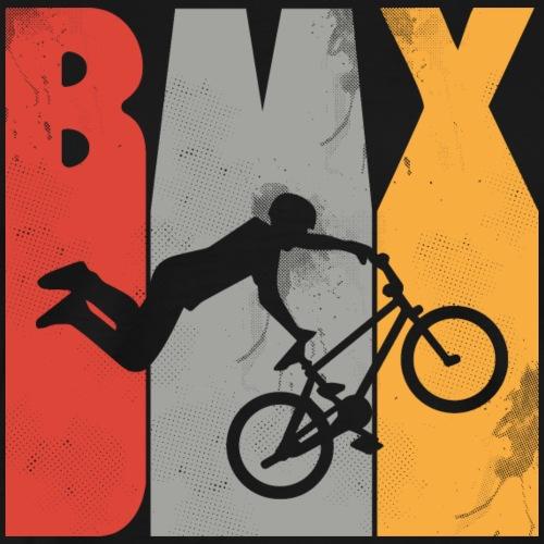 Funyy Bicycle - Extreme Sports - Retro 1970 BMX - Männer Premium T-Shirt