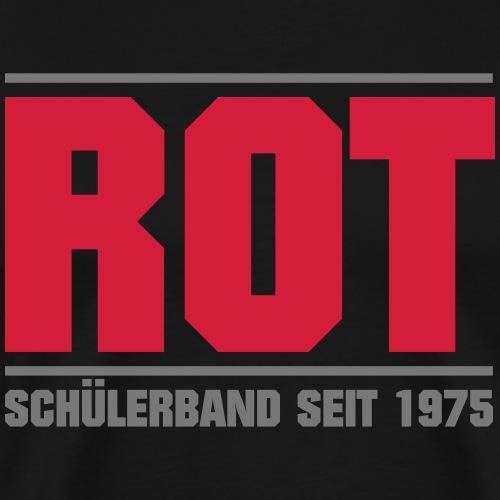ROT - Männer Premium T-Shirt