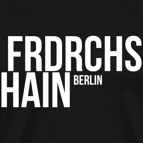 FRIEDRICHSHAIN, BERLIN - Männer Premium T-Shirt