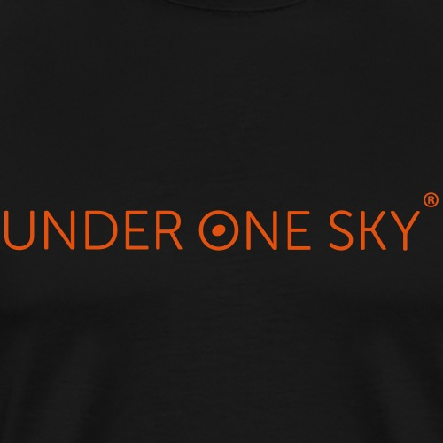 UNDER ONE SKY - Musik Yoga Meditation Entspannung - Männer Premium T-Shirt