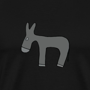 donkey transparent - Men's Premium T-Shirt
