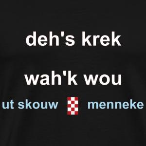 Dehs krek wahk wou w - Mannen Premium T-shirt