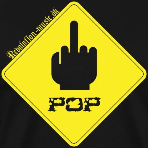 Fuck Pop - Herre premium T-shirt