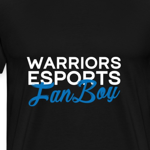WARRIORS ESPORTS - FANBOY - T-shirt Premium Homme