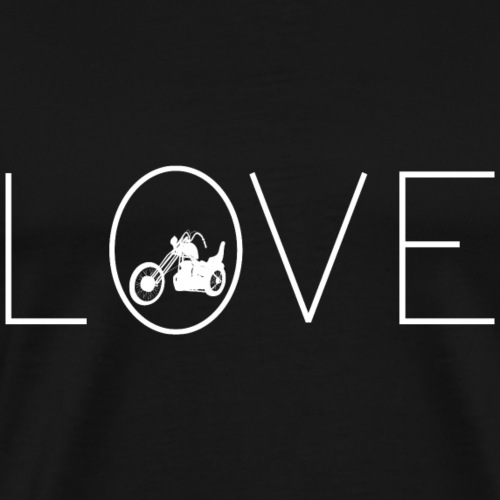 Love Chopper, Ich liebe mein Motorrad - Männer Premium T-Shirt