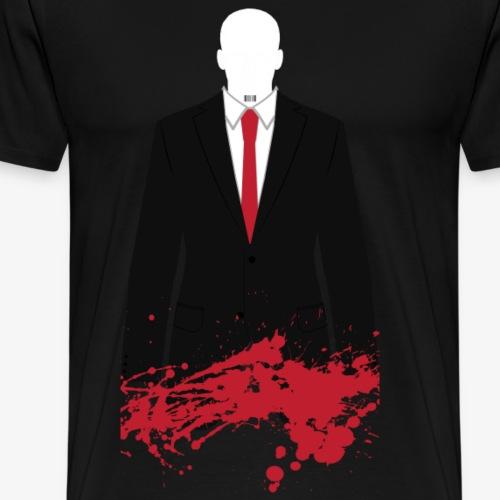 The Hitman - Stained - Men's Premium T-Shirt