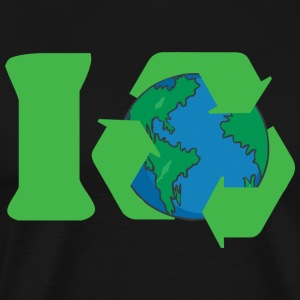 Earth Day I Recycle - Maglietta Premium da uomo