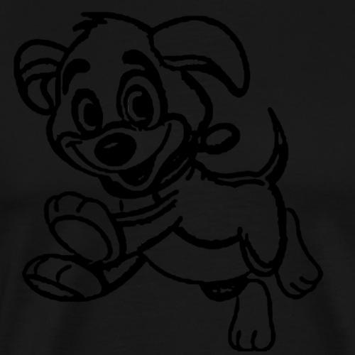 Kleiner Hundi - Männer Premium T-Shirt
