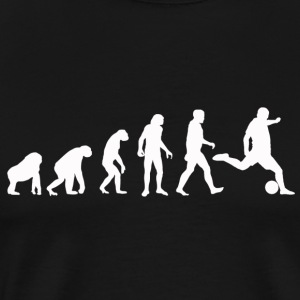 Fotboll Evolution / Soccer evolution - Black Edit - Premium-T-shirt herr