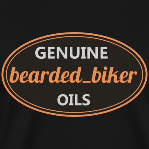 bearded biker Oils - Männer Premium T-Shirt