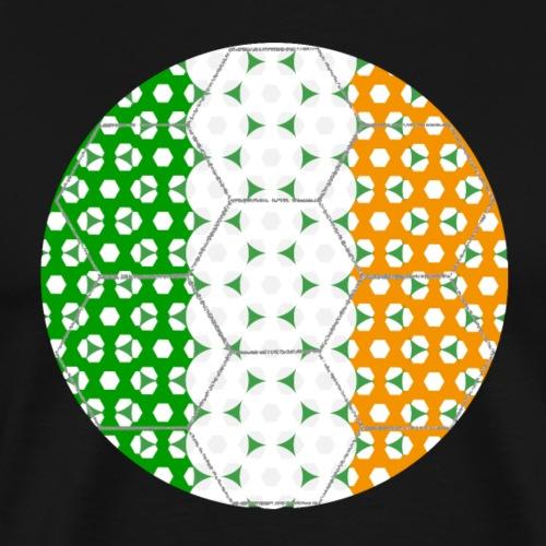 Fußball Flagge Irland