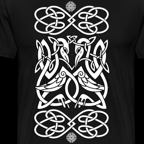 Keltische Vögel - Männer Premium T-Shirt