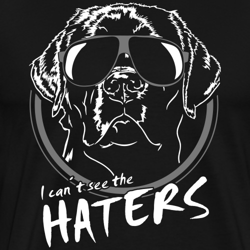 LABRADOR can´t see the haters - Männer Premium T-Shirt