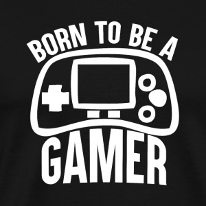 Gamer - Born to jeu - T-shirt Premium Homme