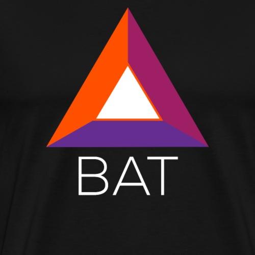 Basic Attention Token (BAT) Crypto Logo - Männer Premium T-Shirt