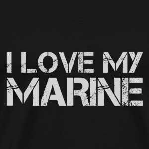 I Love My Ship - Men's Premium T-Shirt