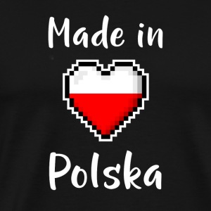 Made in Polska - Premium T-skjorte for menn