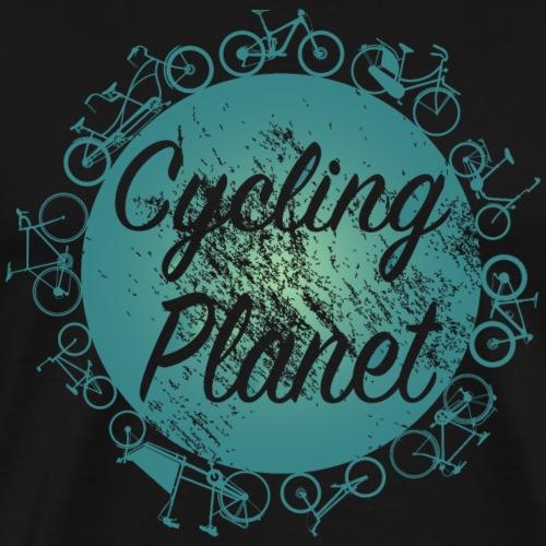 Fahrrad Cycling Planet - Männer Premium T-Shirt
