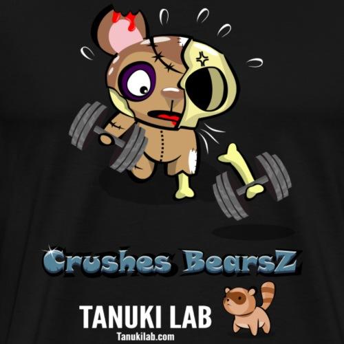 Zombie entrenando - Camiseta premium hombre