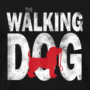 The Walking Dog - Premium T-skjorte for menn