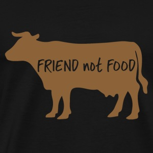 Veggie / Vegan: Friend not food - Men's Premium T-Shirt