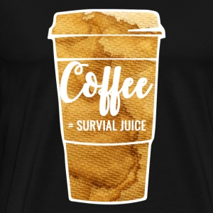 = Café survivent - T-shirt Premium Homme