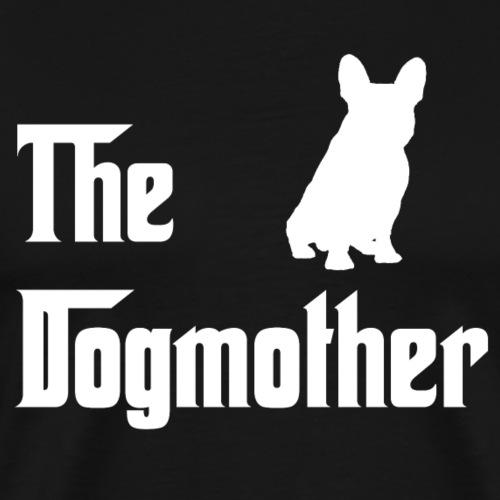 Dogmother_weiss - Männer Premium T-Shirt