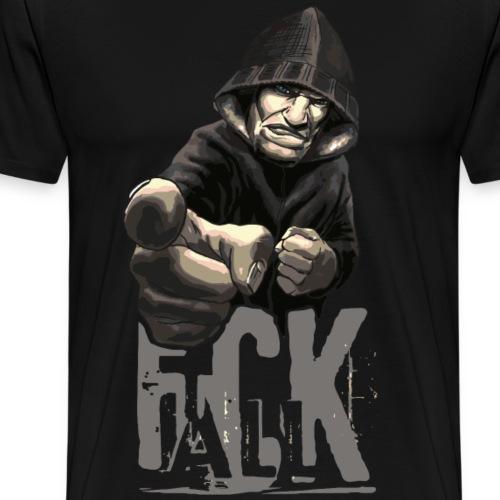 F*CK ALL - Männer Premium T-Shirt