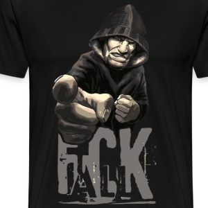 F * CK ALL - Men's Premium T-Shirt