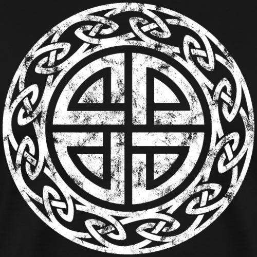 Schild Knoten Keltisches Symbol Zeichen Formen - Männer Premium T-Shirt