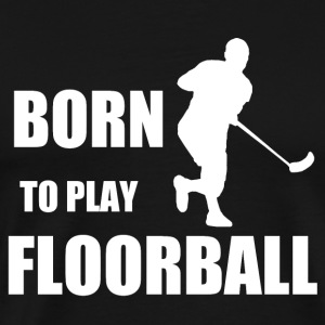 Floorball - Mannen Premium T-shirt