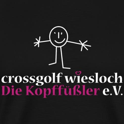 Kopffüßler Logo - Männer Premium T-Shirt